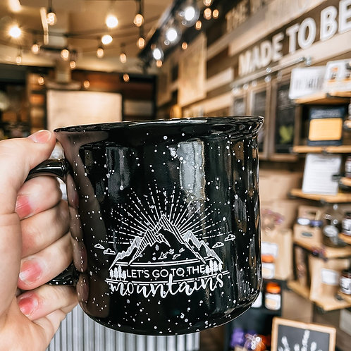 Let's go to the Mountains Mug