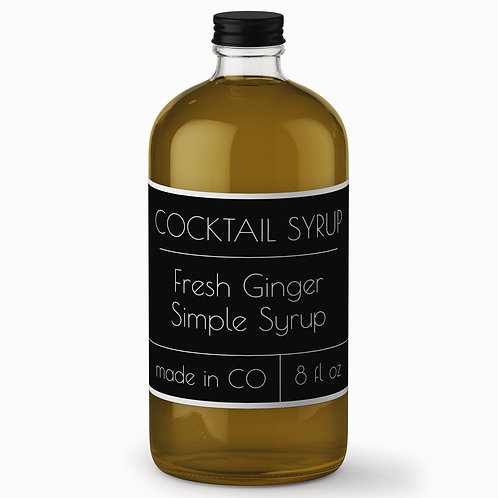 Fresh Ginger Simple Syrup