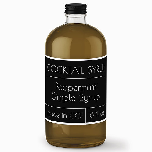 Peppermint Simple Syrup