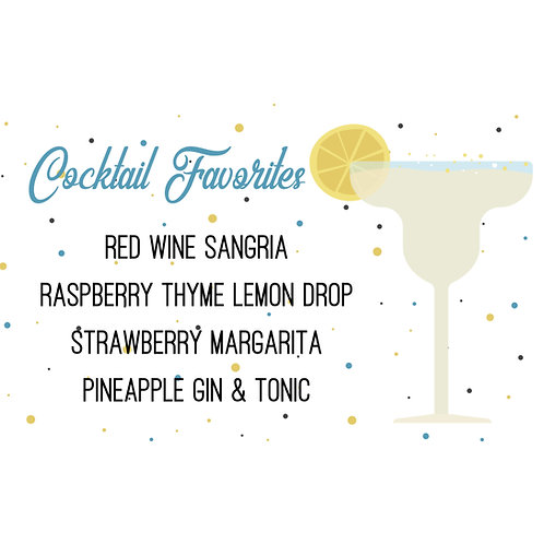 Cocktail Favorites Box