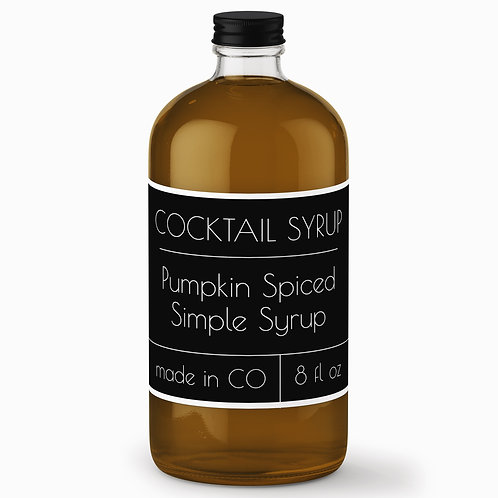 Pumpkin Spiced Simple Syrup