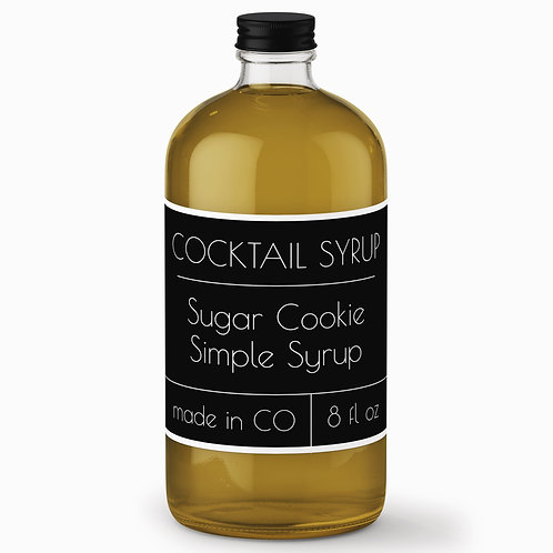 Sugar Cookie Simple Syrup