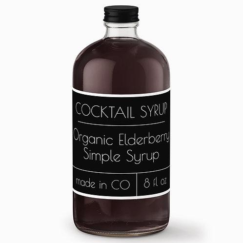 Elderberry Simple Syrup