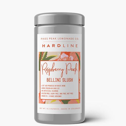Raspberry Peach Bellini Slush