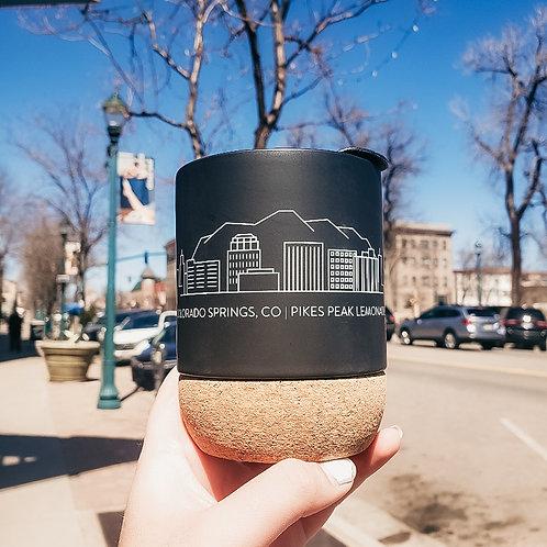 Colorado Springs Cork Mug