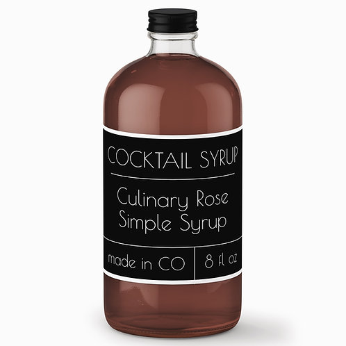 Culinary Rose Simple Syrup