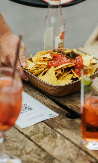 nacho's en sangria Zomerbar Glasfabriek Gent