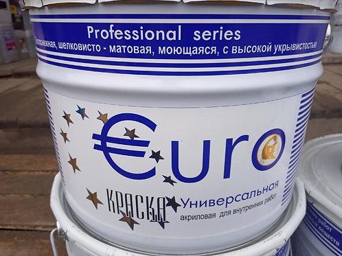 Краска EURO База А 10л.