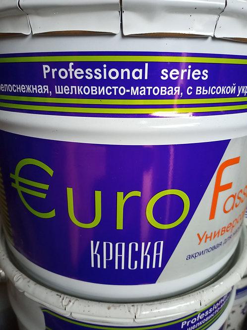 Краска Евро Фасад База А. 5 л.