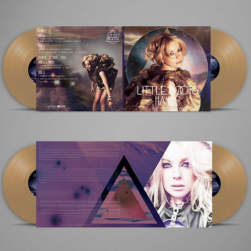 HANDS 10th Anniversary Gold Double Vinyl