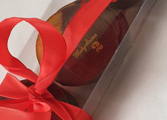 Barrettes Oranges Confites/Chocolat Noir