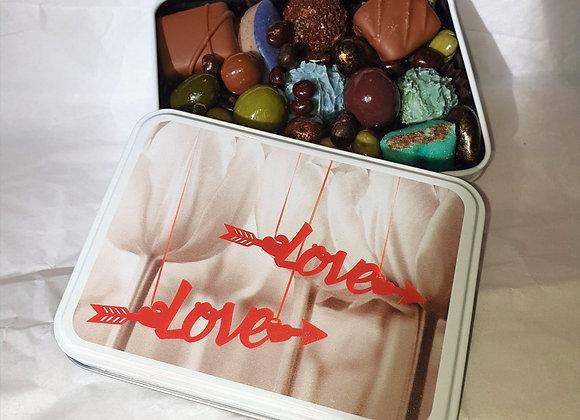 Boite Love / 200 g chocolat