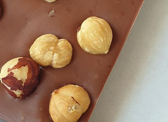 Tablette chocolat Lait/Noisettes