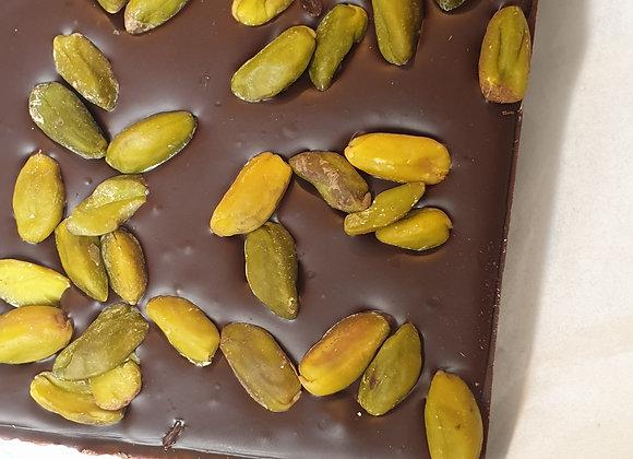Tablette chocolat Noir/Pistaches