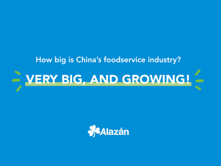 How big is China's foodservice industry? Very big, and growing!