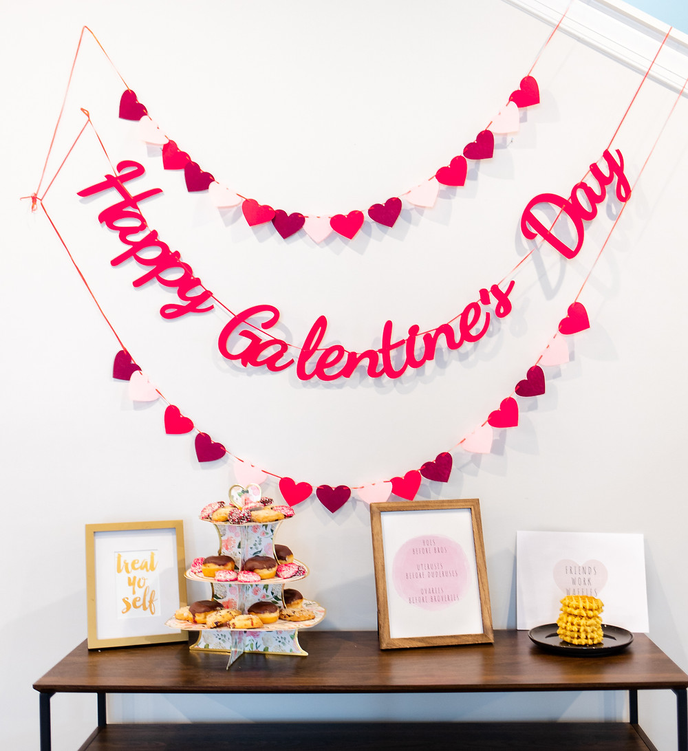 galentines day, Galentine's Day, Galentine's Day Party, Galentines, Parks and Rec Galentine's, Parks and Rec, Galentine's Day Photoshoot, Galentine's Day Decorations, Galentine's Day Party Decor