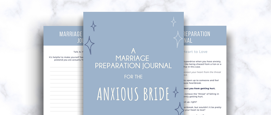 Marriage Journal for the Anxious Bride