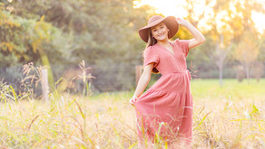 Abigail's Senior Session at Sinking Creek Farm in Murfreesboro