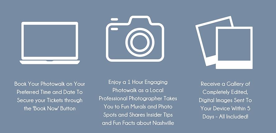 Nashville Photowalk Photoshoot Mural Tour Nashville Vacation Photographer