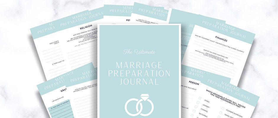 The Ultimate Marriage Prep Guided Journal