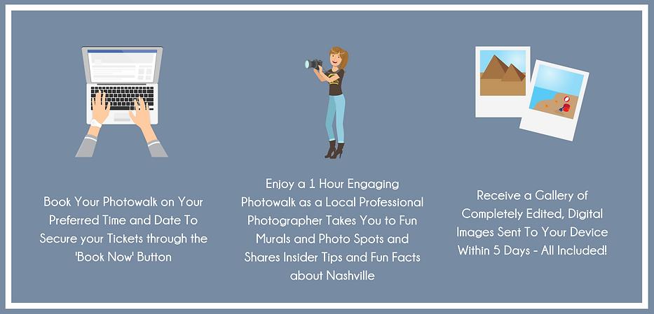 Book Your Photowalk on Your Preferred Ti
