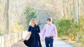 Kelly & Chase's Engagement Session at Radnor Lake