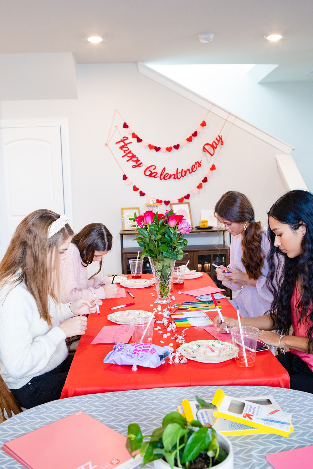 galentines day, Galentine's Day, Galentine's Day Party, Galentines, Parks and Rec Galentine's, Parks and Rec, Galentine's Day Photoshoot, Galentine's Day Decorations, Galentine's Day Party Decor, gina co photography,