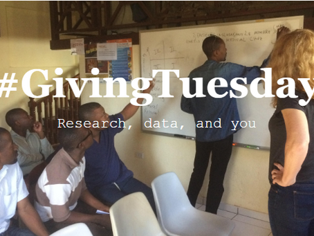 Giving Tuesday: Research, data, and you