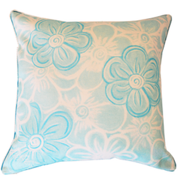 Serenade Teal Cushion Cover