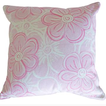 Serenade Pink Cushion Cover