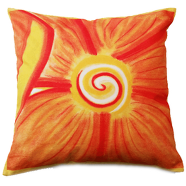 Perfect Pansy Cushion