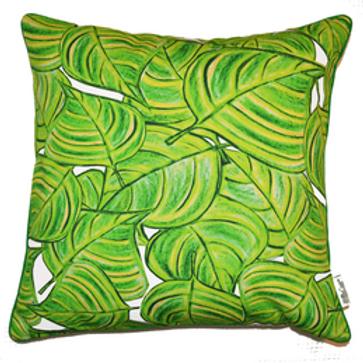 Lime Vine Cushion Cover