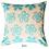 Thumbnail: Aqua Love Note Cushion Cover two