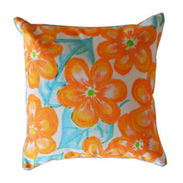 Blossom Orange Crush Cushion Cover