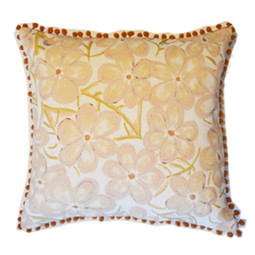Blossom Beige Cushion cover