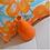 Thumbnail: Blossom Orange Crush Cushion Cover