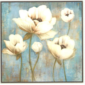 Blooming Flowers Canvas 2