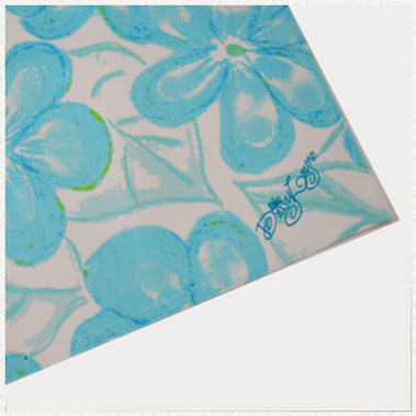 Blossom Teal Table Runner