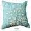 Thumbnail: Aqua Love Note Cushion Cover one