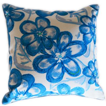 Blossom Sapphire Cushion Cover