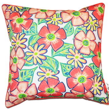 Share  Pretty Poppy Cushion Cover