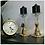 Thumbnail: Elegance gold & glass candle Holder