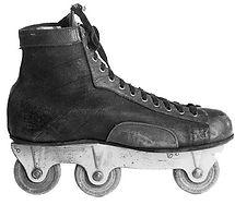 Premier patin en ligne de l'histoire