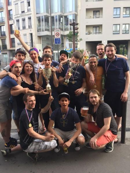 Les Corsaires Loisirs Champion IDF 2017-2018