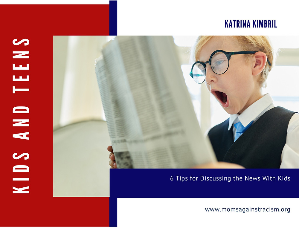 6 tips for discussing the news with kids