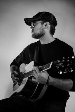 Creative Head Shot-Guitar-Studio