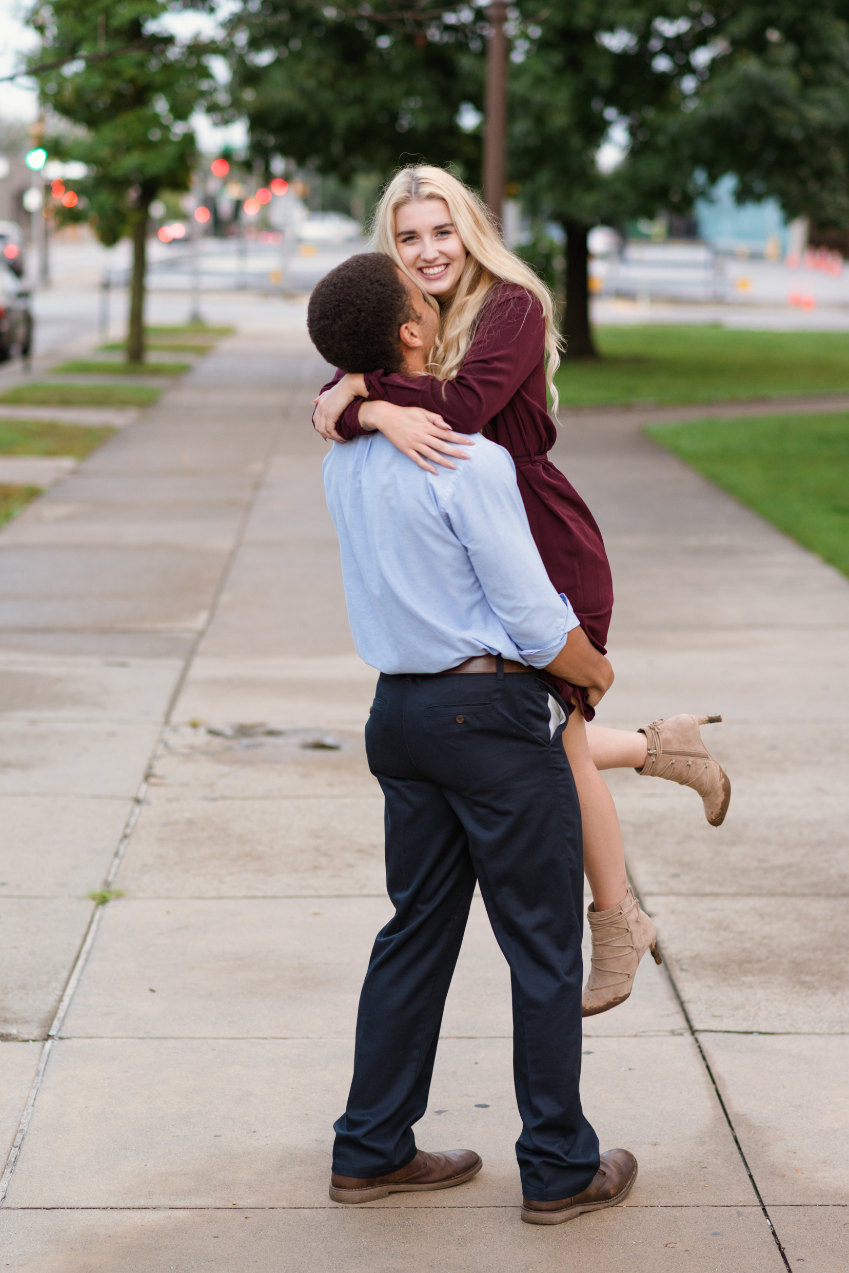 Fun Engagement-Couple-Photoshoot