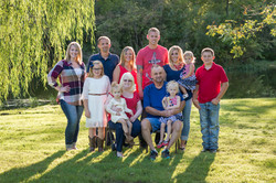 Large Family Photographer-Outdoor