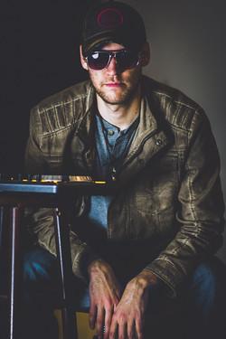 DJ In Studio Head Shot