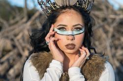Native American-Model-Styled-Head shot